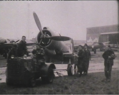 A46-1 Towed Out for Engine Run Tests