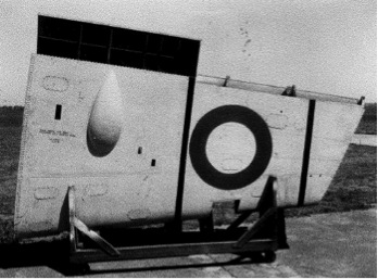 CAC Boomerang starboard outer wing under surface